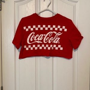 Coke-a-cola crop top from ARDENE